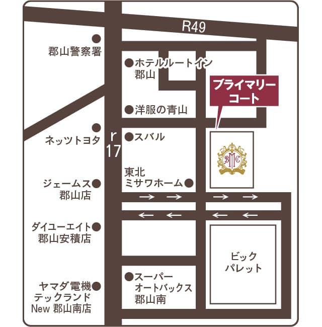 近隣エリアマップ